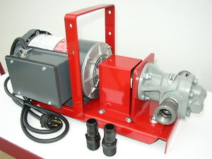 New 20 Gpm Pump For Bulk Oil Waste Oil Fuel Oil Heaters Burners Biodiesel
