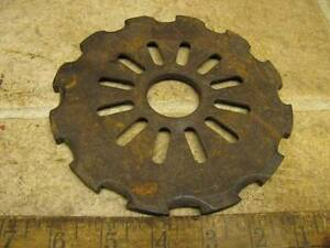 Horse Drawn International Corn Planter Seed Plate P82 Ih Ihc