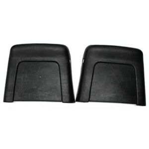 Assembled Bucket Seat Backs 1967 Nova chevelle Pair