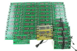 39 Piece Circuit Board Lot With Led Display New