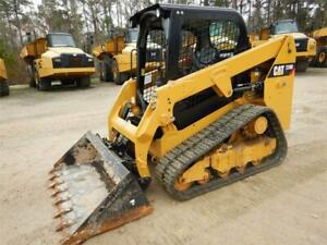 2017 Caterpillar 239d Track Skid Steer Loader Cat 239 239d
