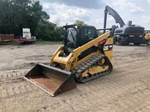 2015 Caterpillar 289d Cab Heat Air Track Skid Steer Loader Cat 289 289d