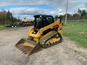 2016 Caterpillar 259d Track Skid Steer Loader Cat 259 259d