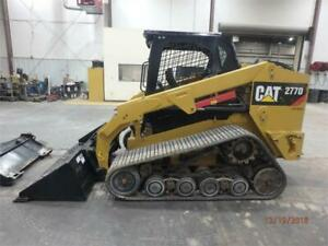 2016 Caterpillar 277d Track Skid Steer Loader Cat 277 277d