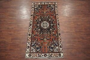 5x10 Fine Antique Tafresh Area Rug Gallery Runner Hand Knotted Wool 4 7 X 10 4
