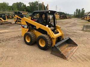 2016 Caterpillar 236d Skid Steer Wheel Loader Tire Machine Cat 236 236d