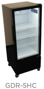 21 Upright 1 Glass Door Drink Display Cooler Refrigerator Gdr 5hc New 9730