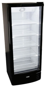 Glass Door Drink Display Cooler Refrigerator 25 W 64 Tall Gdr 12hc New 9732