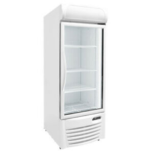 27 Upright Glass Door Display Freezer Commercial Excellence Gdf 13 New 9738