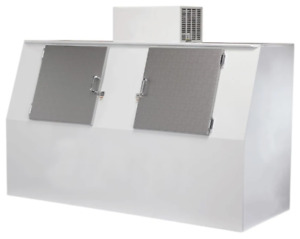 New 94 Bagged Ice Merchandiser Freezer Cold Wall Excellence Gelo s75cw 9752