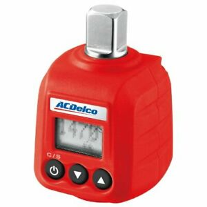 Acdelco Arm602 4 1 2 Digital Torque Adapter 4 147 6 Ft Lbs With Audible Alert