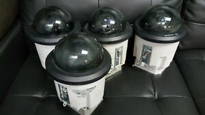 Lot Of 4 Bosch Autodome Modular Indoor outdoor Home Business Security Cameras