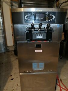 Taylor C723 Soft Serve Frozen Yogurt Ice Cream Machine Warranty 3ph Air