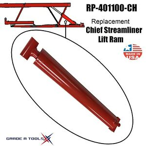 Chief Streamliner Frame Machine Hydraulic Lift Ram