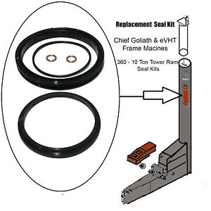 Replacement Chief Goliath Impulse Tower Ram Seal Kit Frame Machine