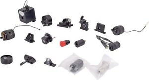 Mixed Lot Of 17x Lab Optical Laser Filter mirror lens Mount fixture Assembly