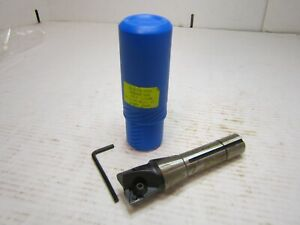 Tmx 6 901 515 1 1 4 Indexable Square Shoulder End Mill R8 Taper Shank Rh Cut