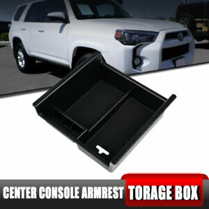 Center Console Plate Box Coin Tray Armrest Storage For Toyota 4runner 2010 2018