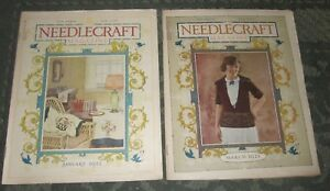 2 January 1922 And March 1922 Publications Needlecraft