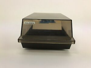 Rolodex Corporation Rotary Business Card File Box Cbc 200 See thru Box Cover