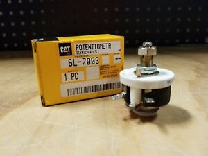 Genuine Caterpillar Cat Marine Generator Panel Potentiometer 6l 7003