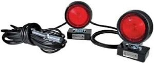Safe Truck Magnetic Tow Lights W 30 All Weather Cable 4 way Plug_mtl101