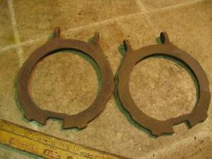 2 John Deere Y4043b Bean Beet Planter Bottom Hopper Plate Cast Iron