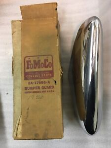 1949 1950 1951 Ford Front Bumper Guard Right 8a 17996 A Nos