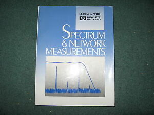 Spectrum And Network Measurements Robert A Witte 1992 Paperbk Hp 9780130308009