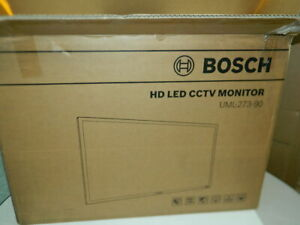 New Bosch Uml 273 90 Hd Led Cctv 27 inch Security Monitor Screen