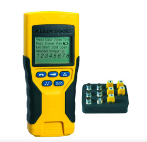 Klein Tools Vdv Voice Data Video Cable Wire Tester Test Meter Detector Tool Kit