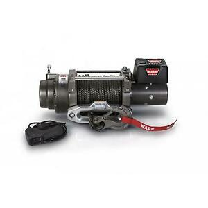 Warn M12 S Recovery 12000lb Winch Synthetic Rope War97720