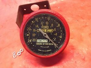 Ford Tractor Tachometer Original 601 801 901 2000 4000