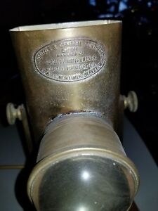 Rare Early 1800s Antique Vintage Hand Held Candle Surgical Lamp
