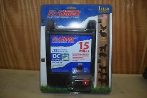 Fi shock Edc15m fs 15 Mile Dc Powered Low Impedance Electric Fence Controller