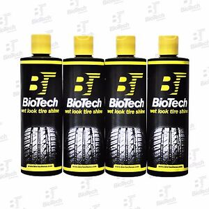 Wet Look Tire Shine Silicone Tire Shine Liquid Tire Shine 16oz 6 Units