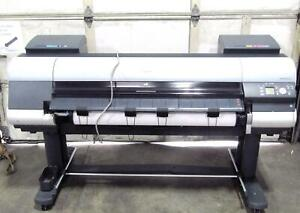 Canon Ipf8300s Large Format Printer Total Usage 20363 Sq Ft
