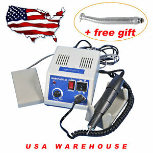 Dental Lab Marathon Micromotor 35k Rpm Handpiece 6h Fiber Optic Handpiece p d