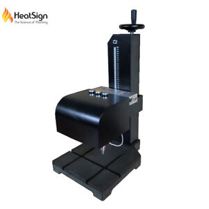High end Electric Small Metal Engraving Machine permanent Mark On Tag pipe tools