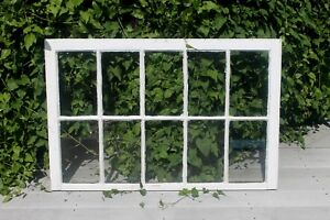 Vintage 10 Pane Window Sash Pinterest Wedding Frame Antique Salvage 44 X 29