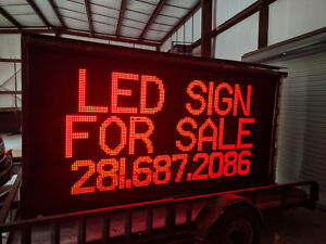 Daktronics Led Sign Single Face