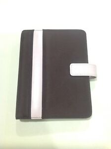 Franklin Covey Compact 365 Brown Pink 6 1 Inch Ring Binder Planner Organizer