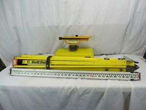 Cst berger Transit Level Survey Equipment With Hard Case And Tripod Measure Rod