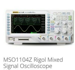 Oscilloscope Rigol Ms01104 Z New