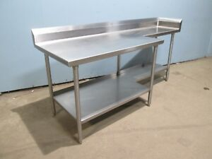 midwest Heavy Duty Commercial nsf 100 S s 84 l X 30 w Prep work Table