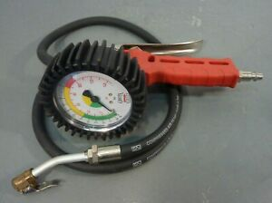 Griot s Garage 145 Psi Analog Tire Inflating Gun Pressure Gauge Air Inflation