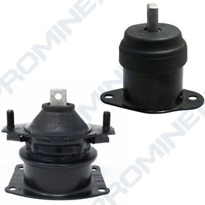 Engine Mount Hydraulic 2pcs Replacement For 2003 08 Accord Acura Tsx 2 4l 3 0l