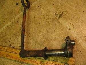 Allis Chalmers C B Tractor Belt Pulley Pto Control Lever And Arm Ac