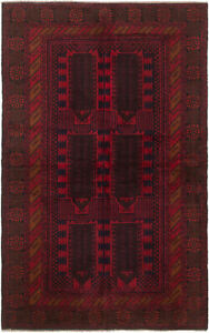 Hand Knotted Carpet 4 0 X 6 4 Traditional Vintage Wool Rug