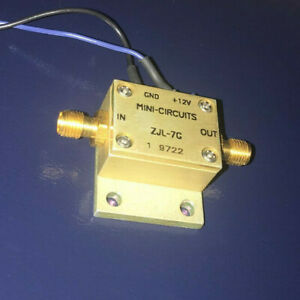 Mini circuits Zjl 7g 0 2 To 7000 Mhz 7 Ghz Broadband Coaxial Amplifier